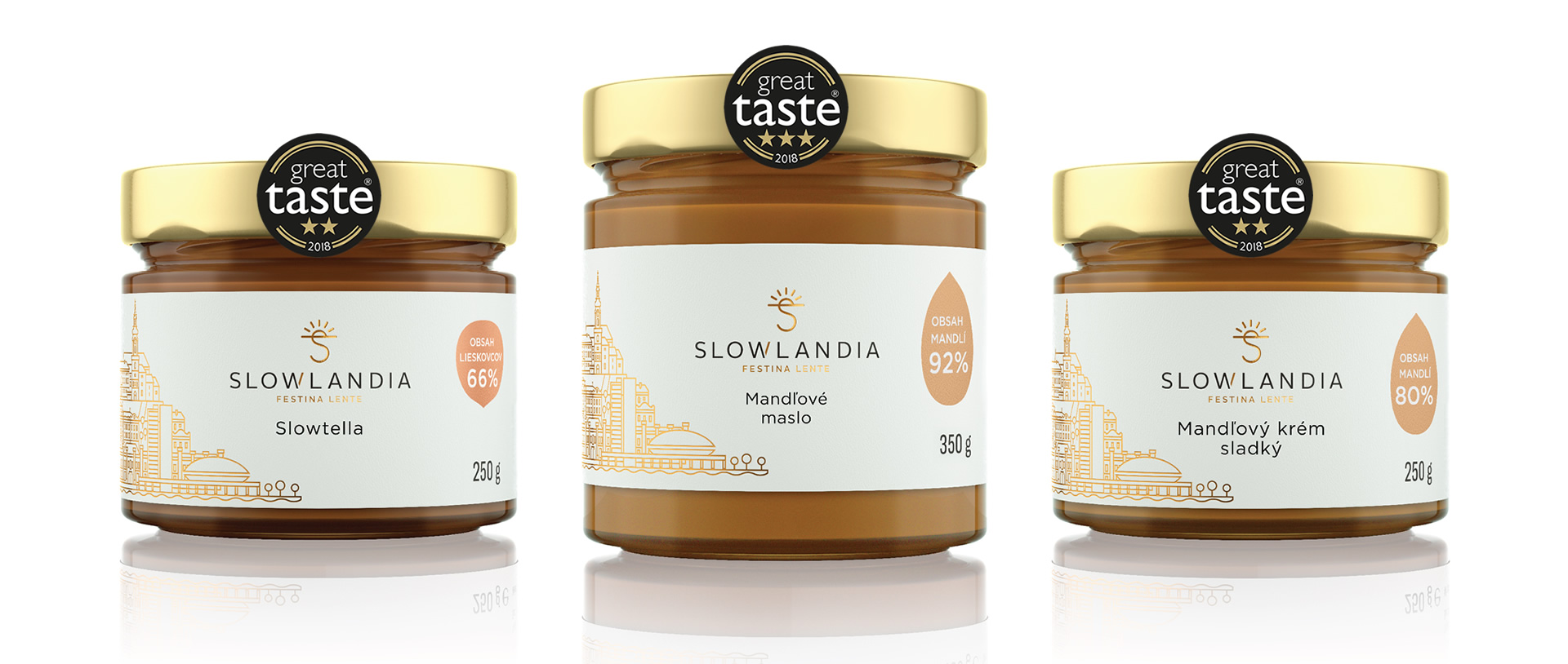 Slowlandia produkty Great Taste 2018 banner