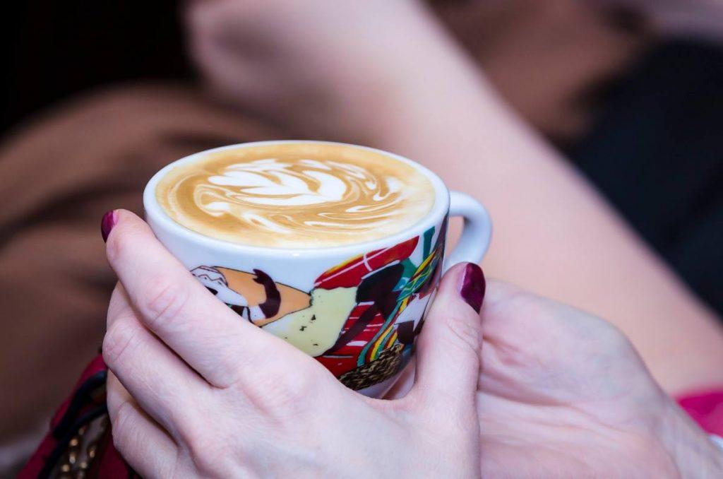 latte art kava v salke